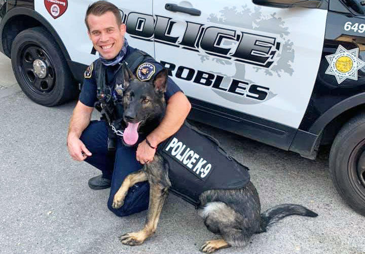 PRPD K9 Renzo Receives Donation of Body Armor