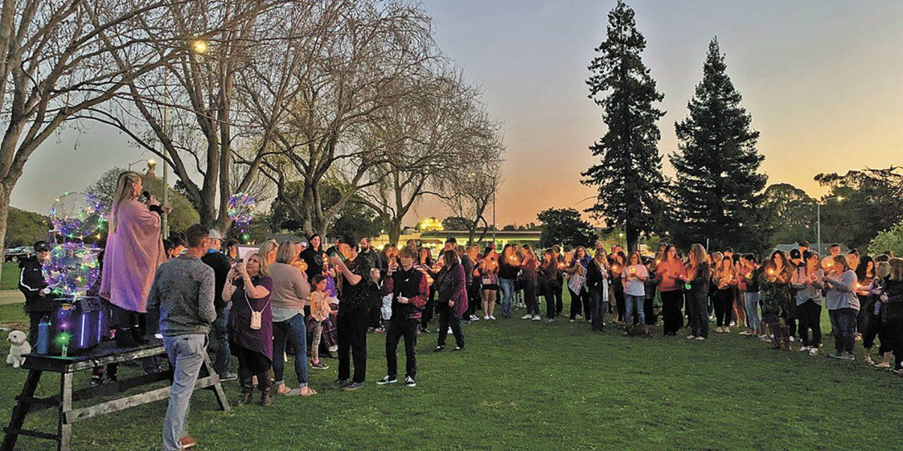 Supporters Host Candlelight Vigil for Kristin Smart