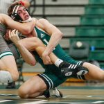 Lamer, Aguilar Claim Titles in Three-Team Cal Poly Wrestling Tournament