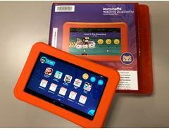 Library Foundation Funds Pre-Loaded Learning Tablets