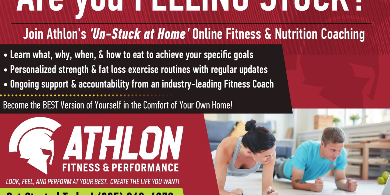 Thank You Athlon Fitness & Performance!