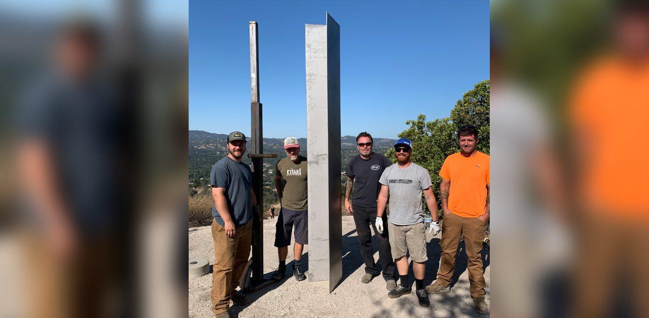 Atascadero Monolith Vandalized and Rebuilt