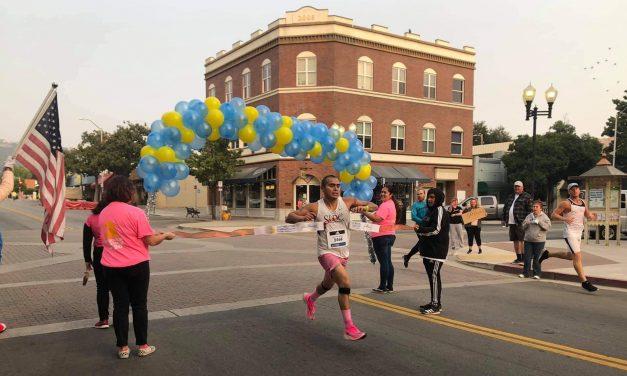 Paso Robles Local Runs Virtual Boston Marathon