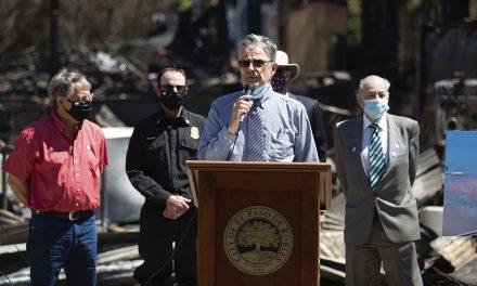 Mayor Martin Addresses Devastating Wildfire