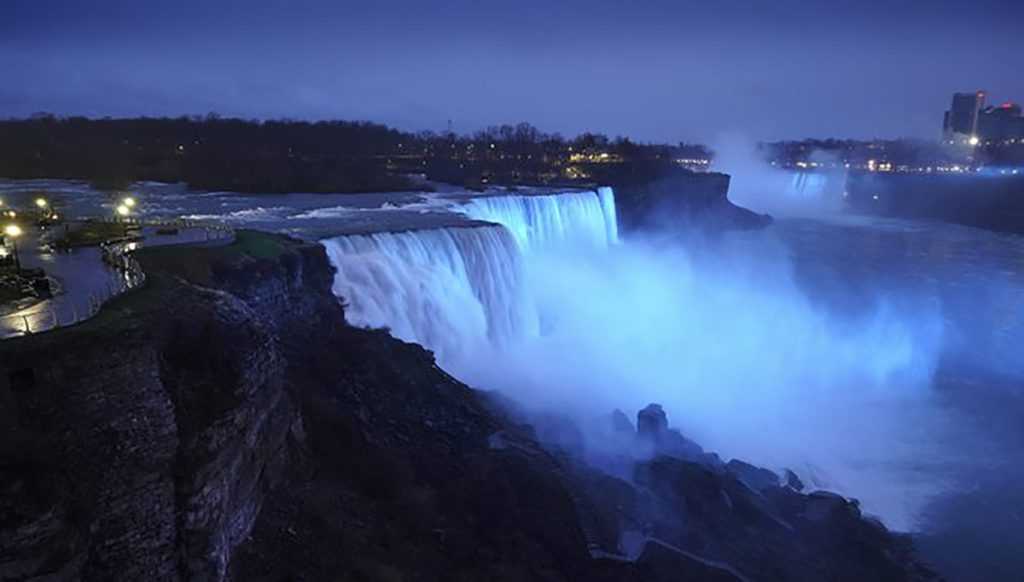 NY Niagara Falls (credit Andrew Cuomo @NYGovCuomo)