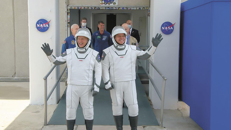 Nasa SpaceX Launch 2.