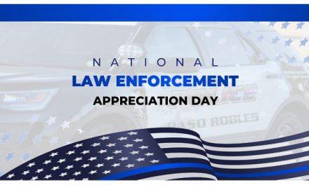 Jan. 9 is National Law Enforcement Appreciation Day