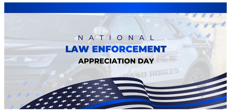 Jan. 9 is National Law Enforcement Appreciation Day