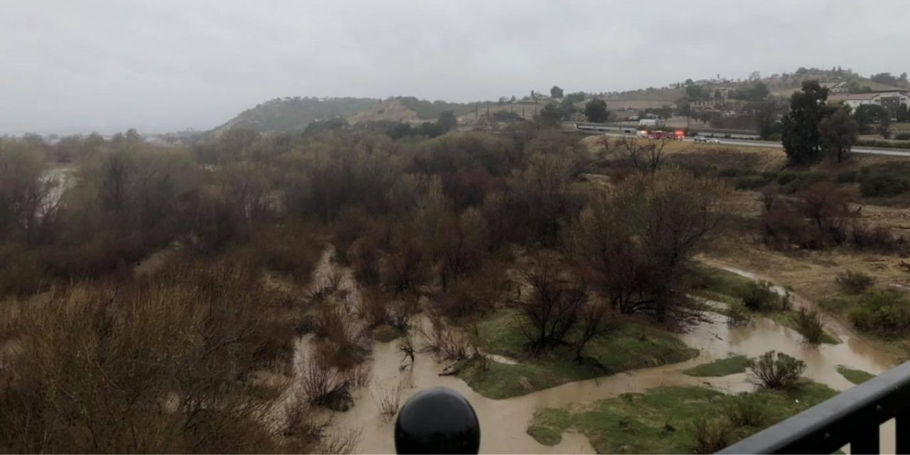 Paso Robles Fire and Emergency River Rescue at Niblick Bridge