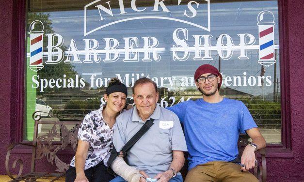 Nick's Barber Maneuvers Through Pandemic