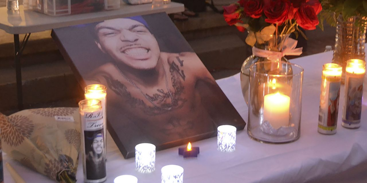 Hundreds Gather to Remember Tre