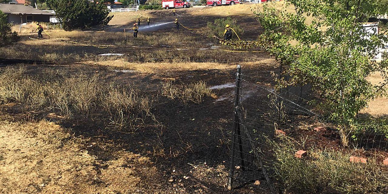 PRFD: Fire Burns Less Than Acre Near Osos Way, Vista Grande