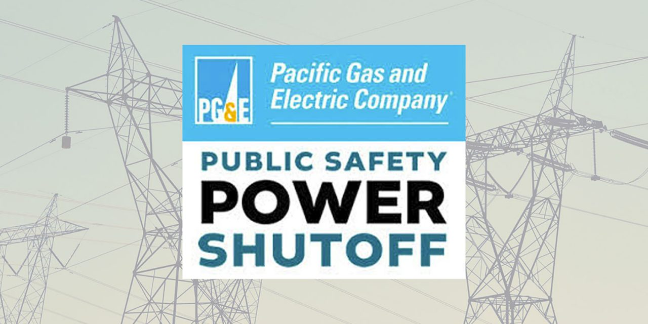 County Notified of Public Safety Power Shutoff for Eastern Arroyo Grande and Nipomo