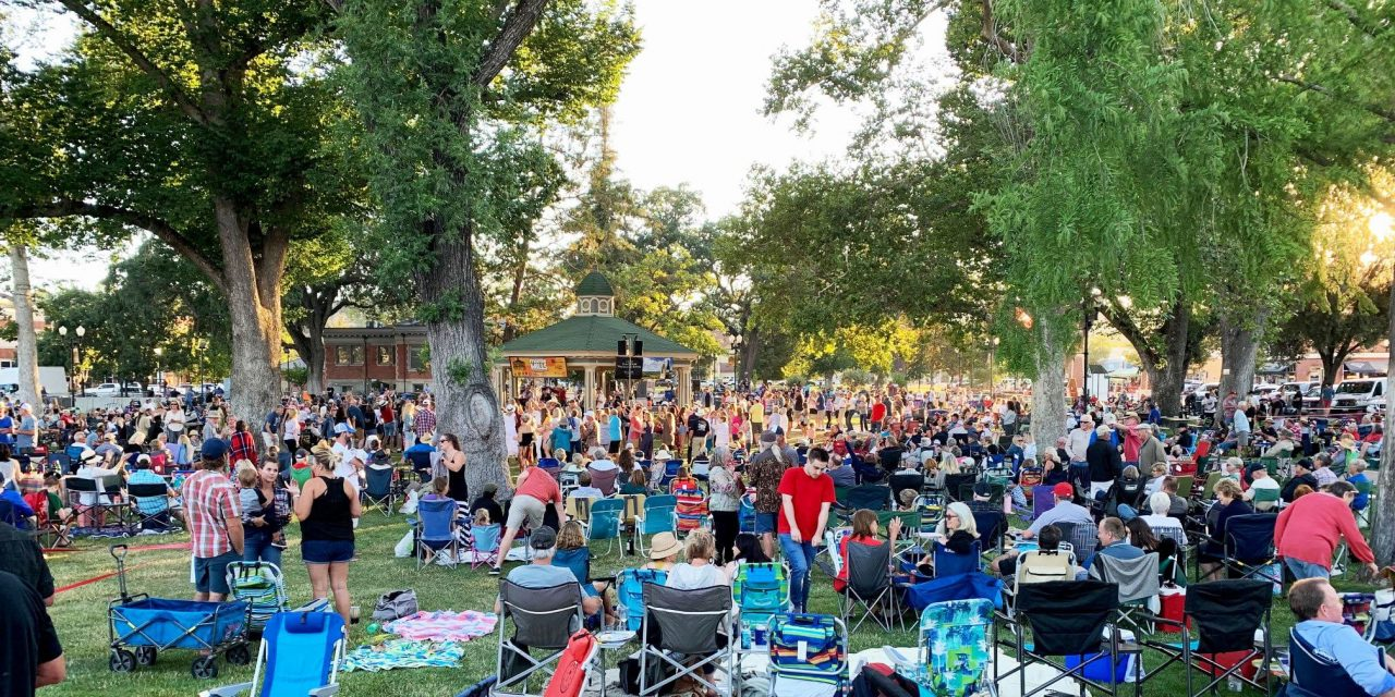 20th Annual Paso Robles Concerts in the Park Return