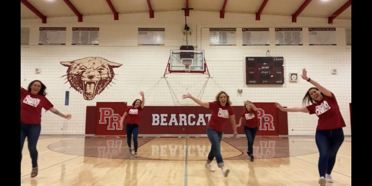 PRJUSD Staff Get Musically Creative Welcoming Back Students