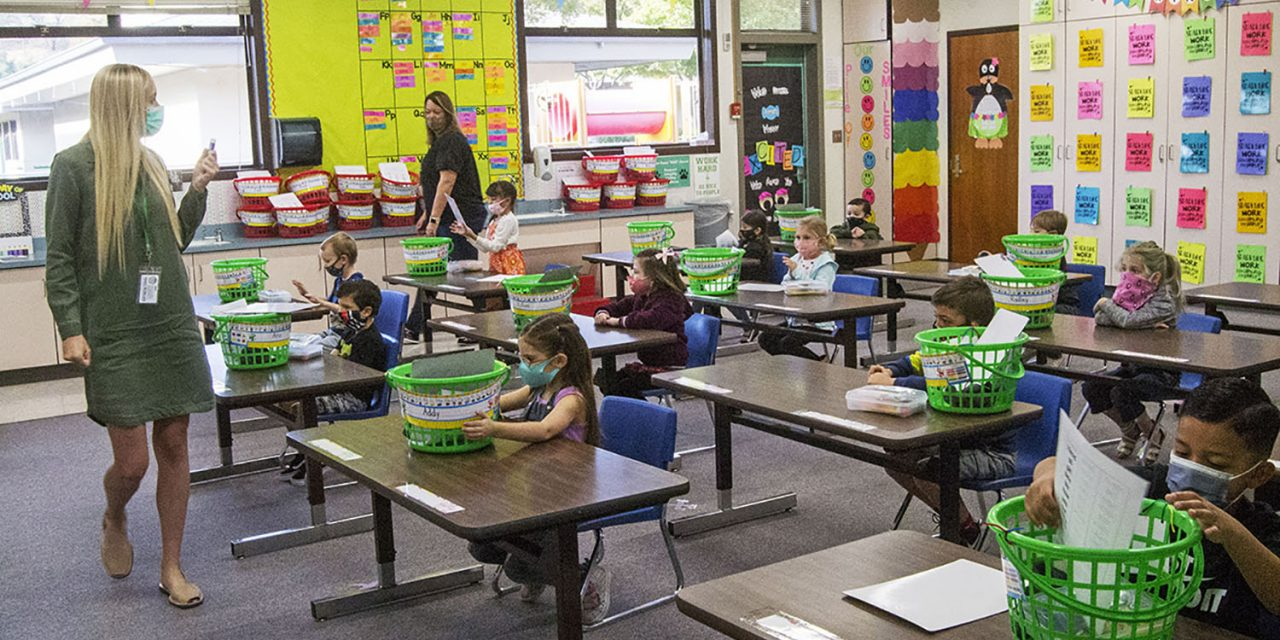 PRJUSD Students are Back at School