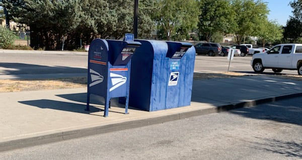 PRPD Advises People Not to Use Drive-up Mailboxes at Paso Robles Post Office