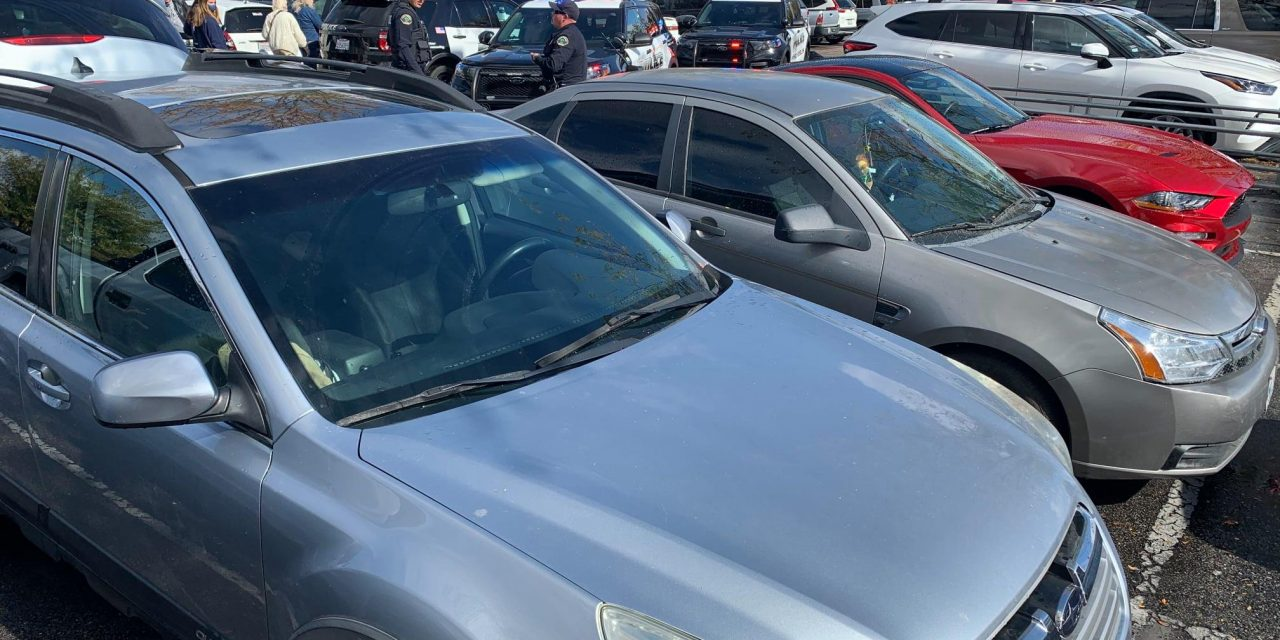 PRPD Spots Stolen Car in Parking Lot