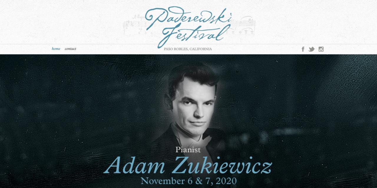 Paderewski Festival Going Virtual for 2020, Lineup Announced