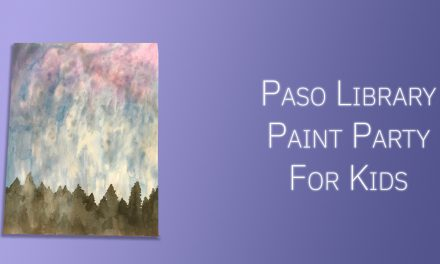 Paso Library Hosts Virtual Paint Party Just for Children