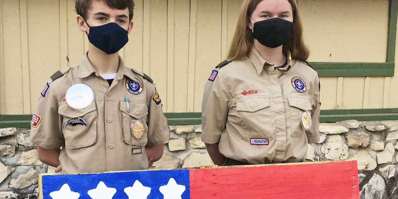 Paso Robles Scout Troops Invite Community to Purchase Handcrafted Pallet Flags Nov. 7