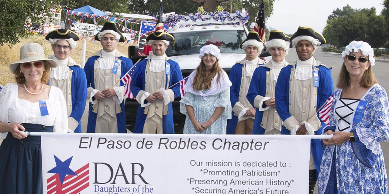 El Paso de Robles Chapter, NSDAR Celebrates 70 Years