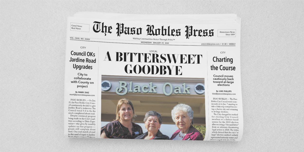 The Latest Paso Robles Press