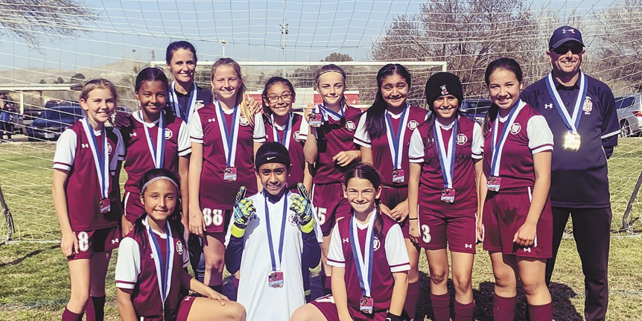 Paso Robles U12 Girls All-Stars Advance to Western State Championships