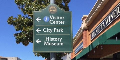 Paso Robles Wayfinding Signage is Being Installed