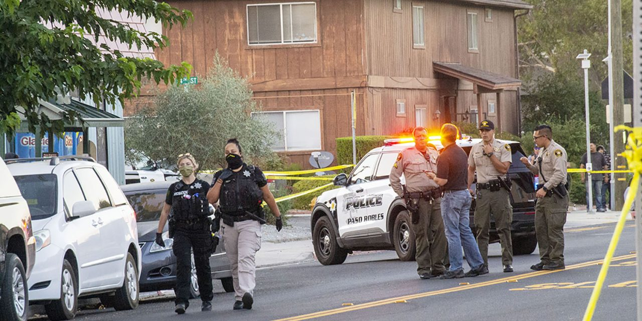 BREAKING NEWS: One Dead, One Hospitalized in North Paso Robles Shooting