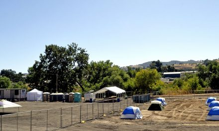 Temporary Camping Area Established for the Homeless in Paso Robles