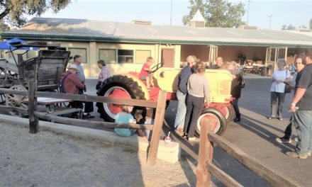 It was a great party at Pioneer Museum