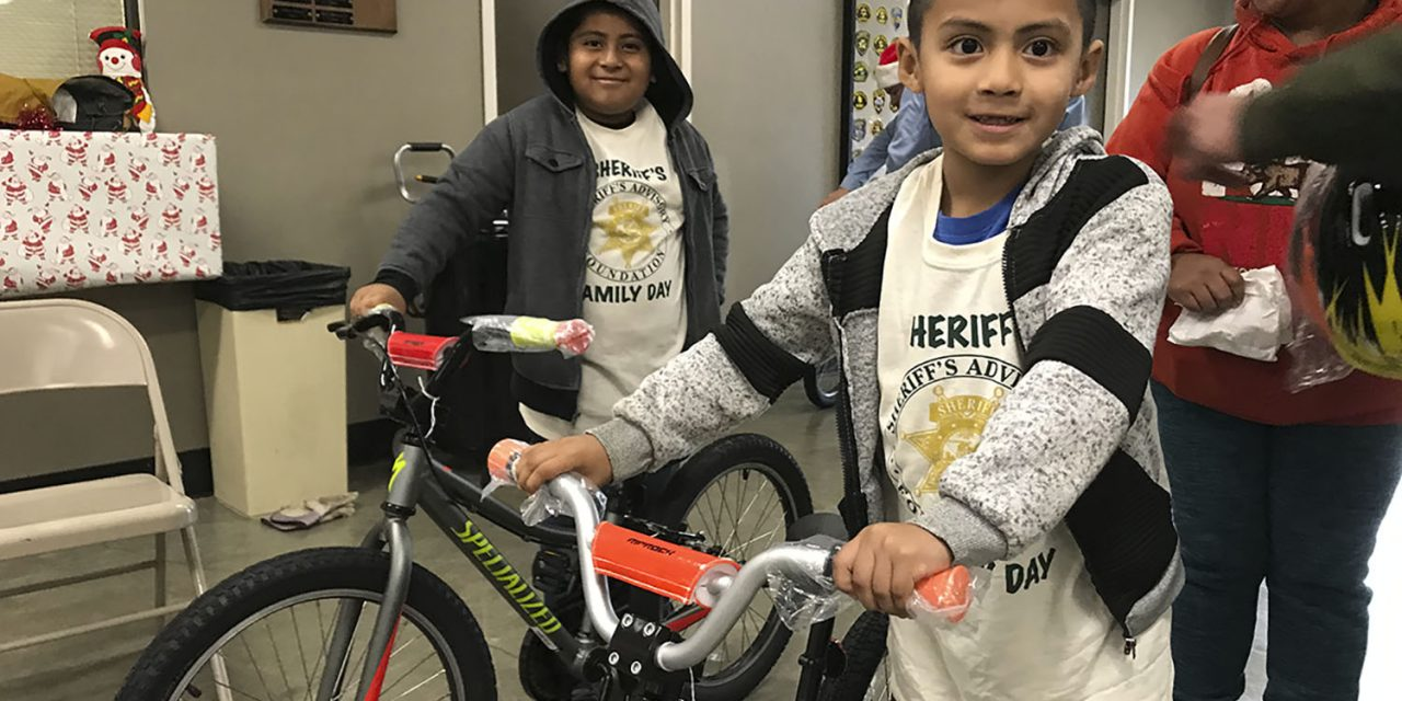 SLO County Sheriff's Office Seeking Donations for Christmas Bicycle Giveaway
