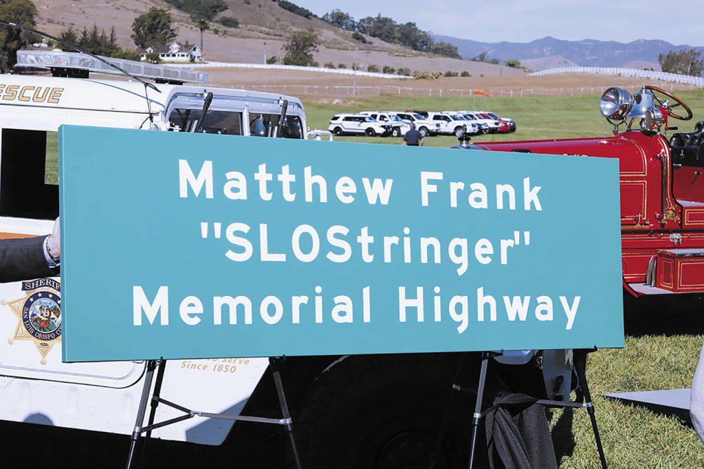 SLO Stringer Memorial by Rick Evans