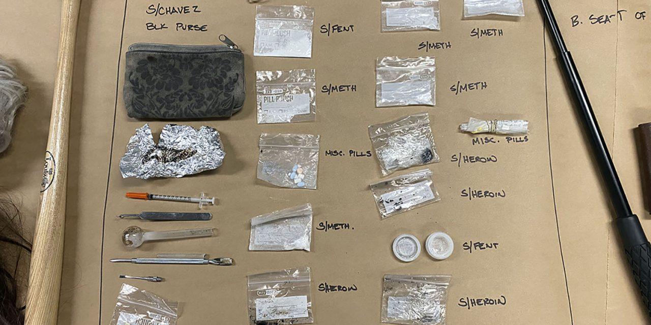 SLOPD Arrests Five on Multiple Drug and Firearm Charges
