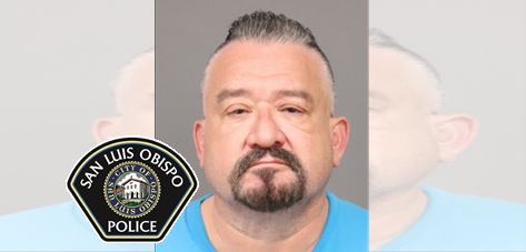 SLOPD Arrest San Luis Obispo Man for Impersonation of a Police Officer and Illegal Possession