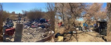 City of Paso Removes an Additional 9,430 Pounds of Trash from Riverbed