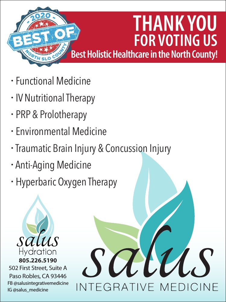 Best Holistic Healthcare of North SLO County 2020