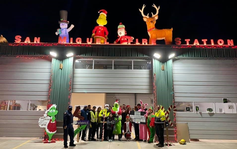 San Miguel Fire Association's Christmas Parade Brings Lots of Cheer