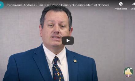 SLO Schools Superintendent Speaks About Coronavirus