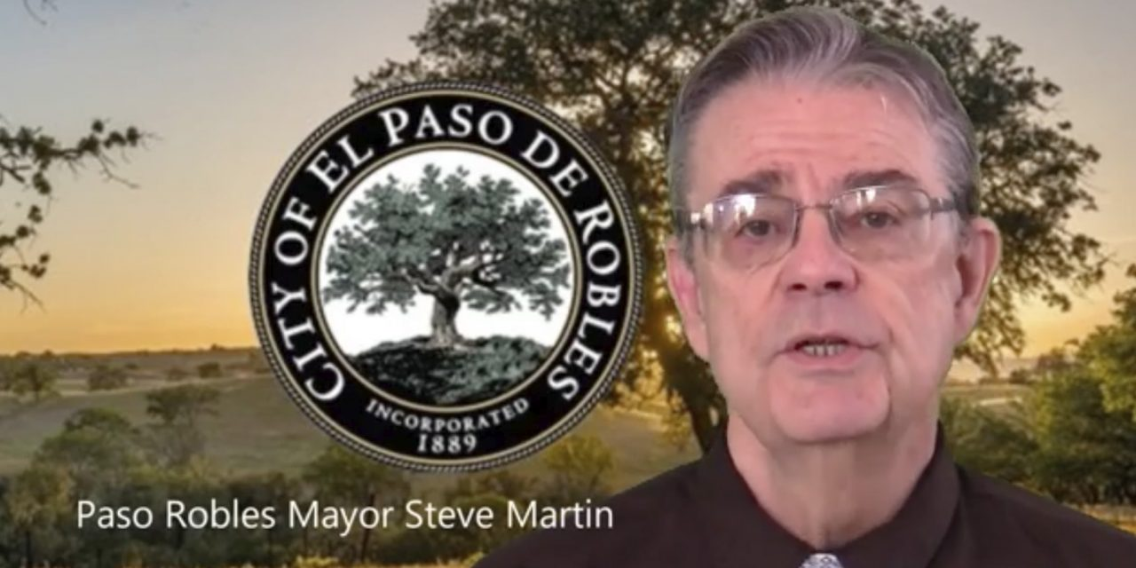 'Stay Strong, Paso Robles' • Steve Martin Video Update