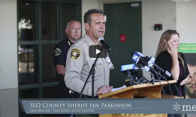 VIDEO: SLO Sheriff Press Conference Following Shootout