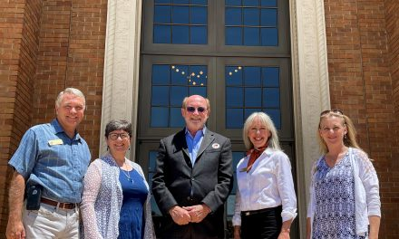 Senator John Laird Visits Atascadero