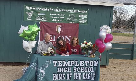 Templeton's Backer, Forniss Sign National Letters Of Intent to Play Softball