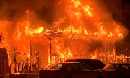 Fire Destroys Sims Ave. Home in Paso Robles