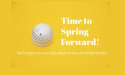 Spring Forward and Change the Batteries in Your Smoke Alarm