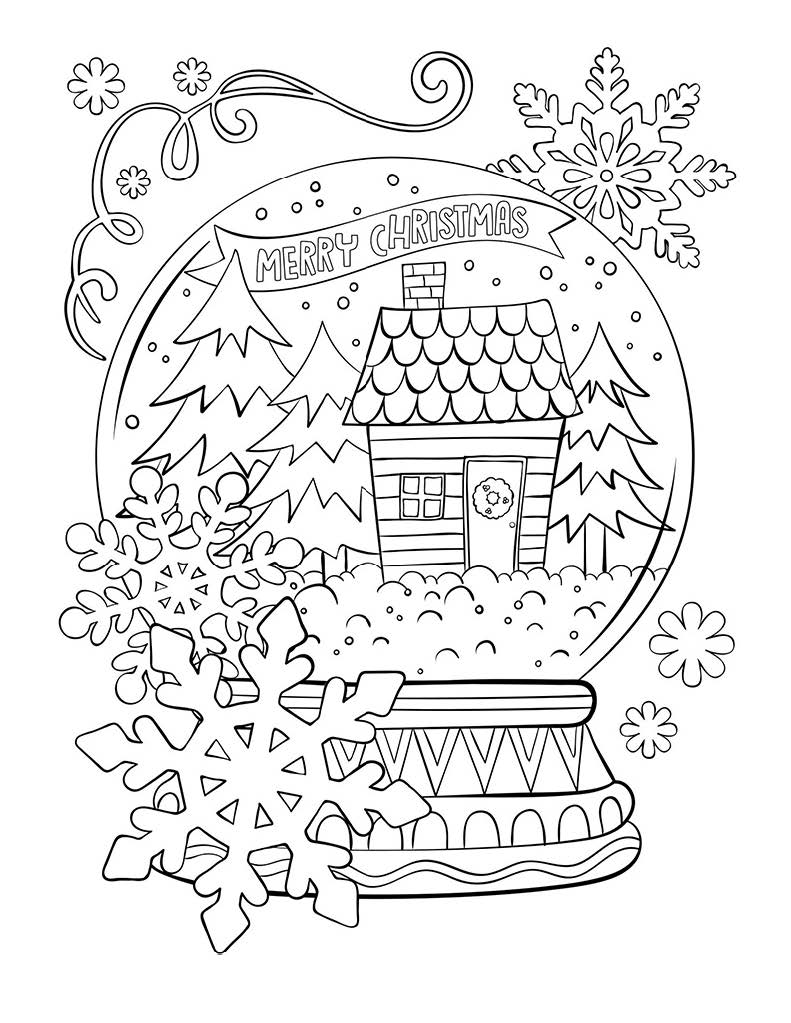 Kids Holiday Coloring Pages Paso Robles Press