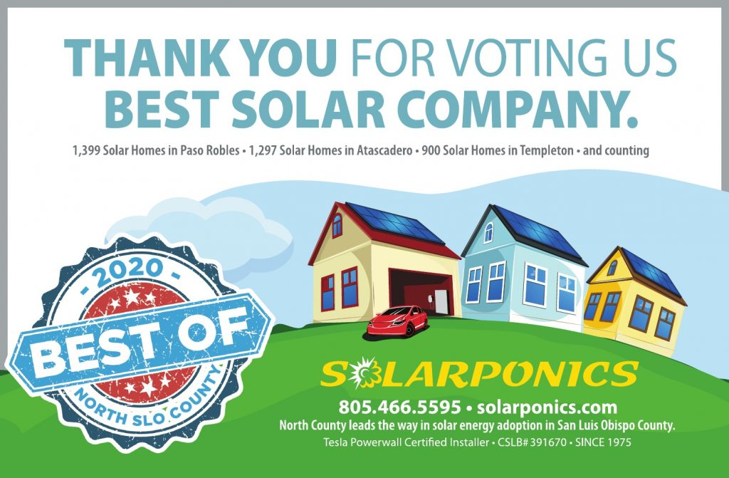 Best Solar Energy of North SLO County 2020