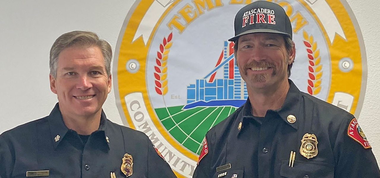 Templeton's New Fire Chief Hitting the Ground Running