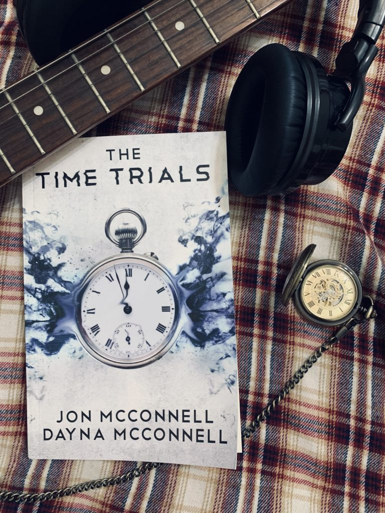 authors jon and dayna mcconnell The Time Trials